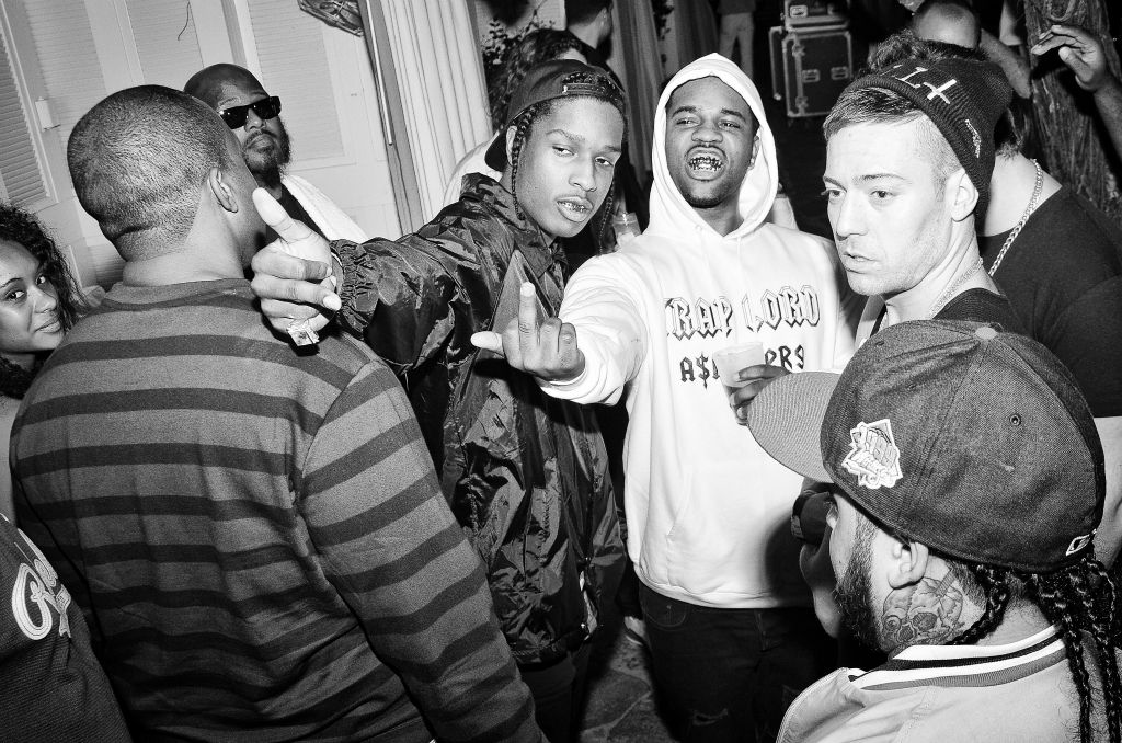 asap rocky and asap ferg and asap mob